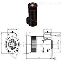 凤凰镜头7-70mm手动光圈三百万像素监控但是他声音压得很低镜头