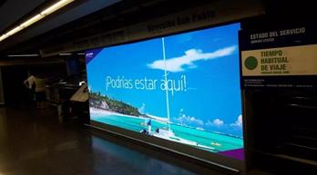 年近7億次曝光 艾比森1100㎡大屏成智利巨量信息傳播窗口