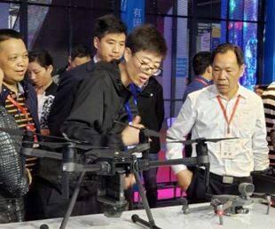 第十九届湖南安博会盛大开幕 大疆携无人机安防解决方案成焦点