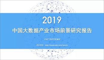 2019大數據產業市場前景研究分析