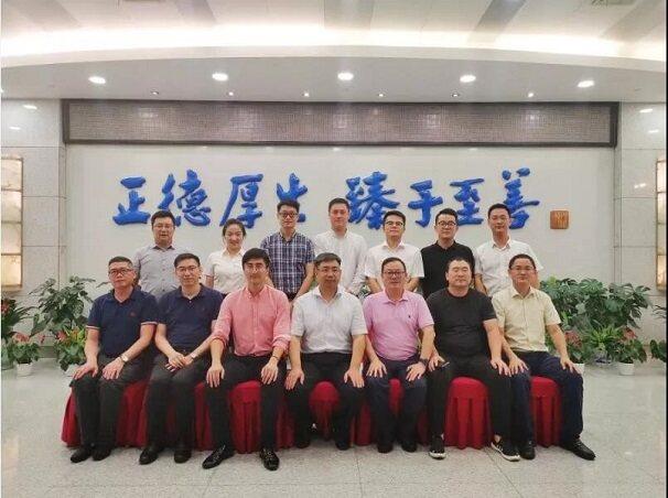 杭州安协副理事长单位领导参观协会理事长单位