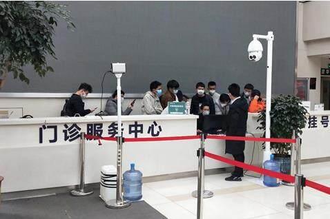 抗擊疫情 大華在行動:超高精度熱成像人體測溫系統助力云南省第一人民醫院