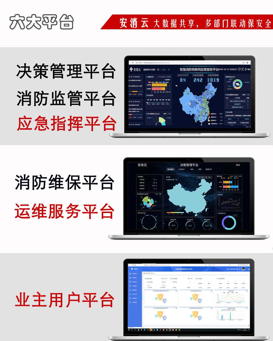 智慧消防物联网云平台系统展示
