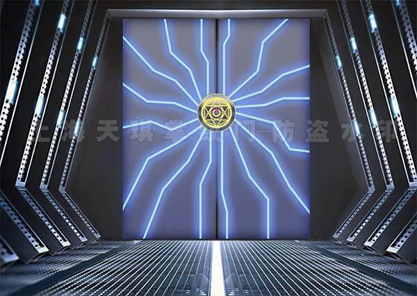 智能调光玻璃门