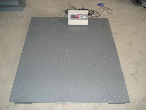 10t地磅称重单模板