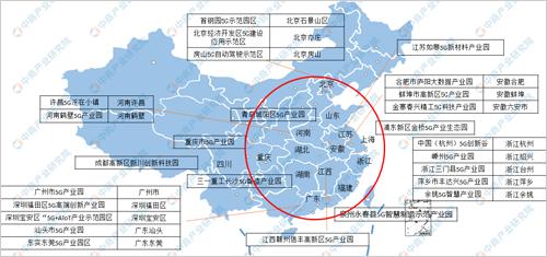 2020年全国5G产业园分布地图及名单汇总